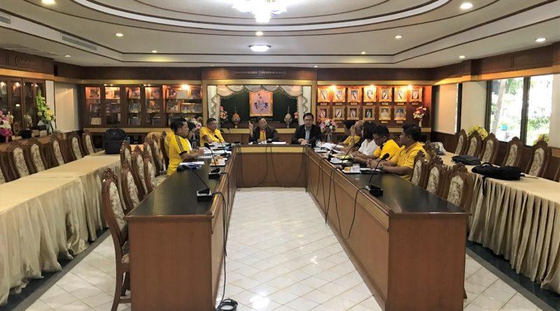 ประชุมคณะกรรมการบริหารของสมาคมนักเรียนเก่าฯ ครั้งที่ 4 ประจำปี 2562